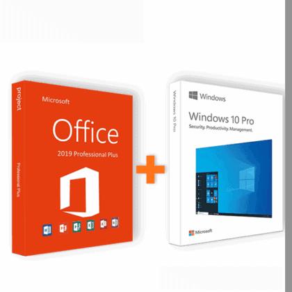 COMBO 1:  Office 2019 Pro Plus   Windows 10 Pro